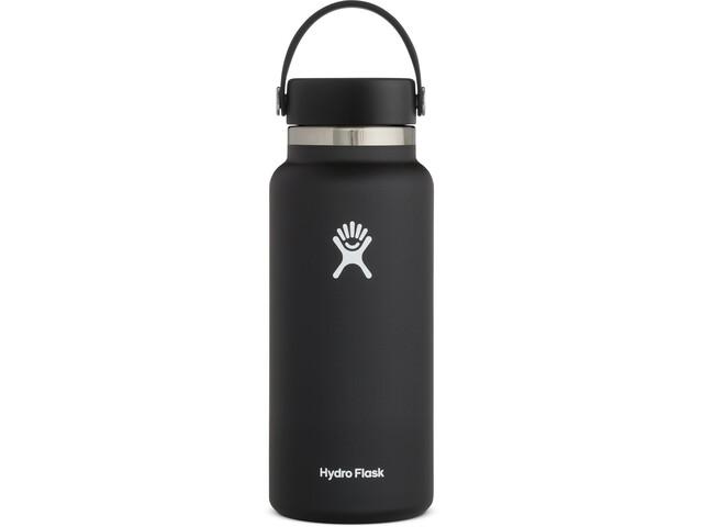 Hydro Flask Wide Mouth Flasche mit Flex Deckel 946ml black
